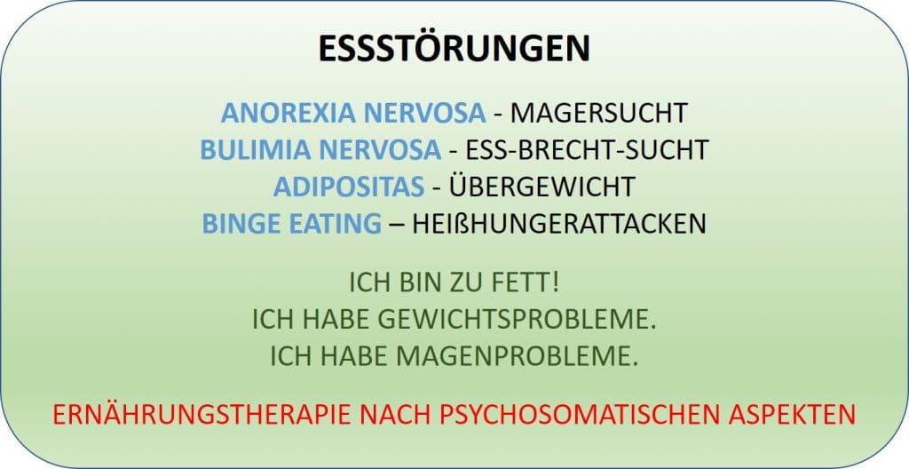 Psychologische Beratung bei Essstörung - Ernährungstherapie Dresden